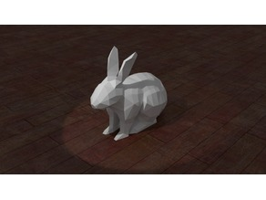 Low Poly Bunny Rabbit