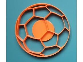 Football / Soccer ball cookie cutter