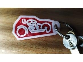 Bike Keychain !!