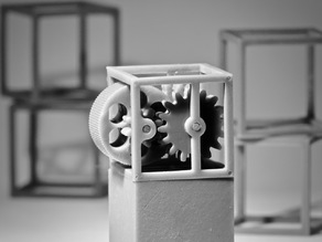 25CUBE: Spinning Machine