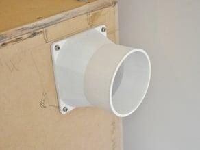 120mm Fan to 100mm A/C Duct Adaptor