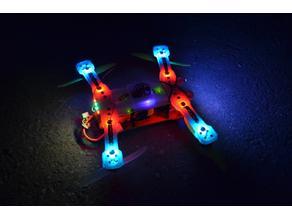 RC LED Drone PM01 Nightflyer - Quadrocopter