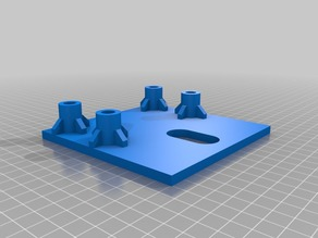 New base for dremel drill press