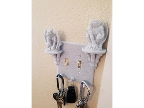 Gargoyle Double Light Switch Cover