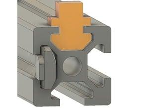 2020 aluminum extrusion Snug MULTIPURPOSE slide insert