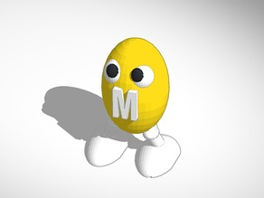 Peanut M&M Man