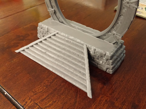 Stone base for 28mm stargate