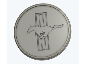 Mustang Emblem Coaster