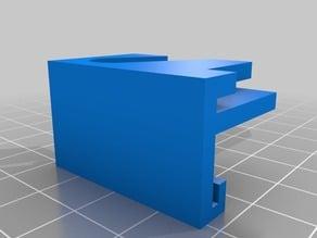 MP Select Mini Back Glass Clip 120mm Bed