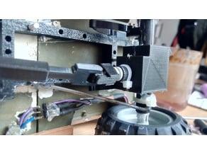 Simple drivershaft for RC DIY crawlers/cars
