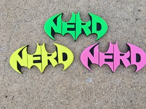 NERD Batman Logo