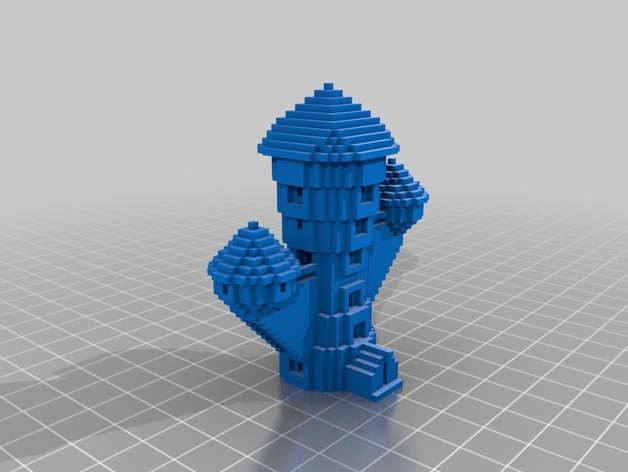Minecraft Wizard S Tower By Tracylynnc Thingiverse