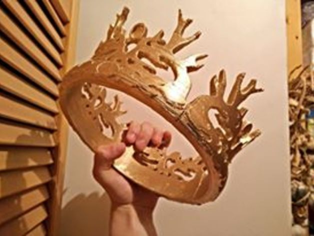 game of thrones joffrey baratheon s crown by plastic universe