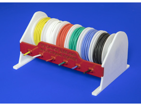 Wire Spool Dispenser Rack Assembly