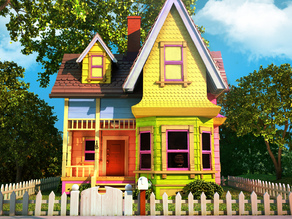 Carl's House (From Pixar's Up) Balloon Weight