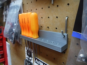 Peg Board Hobby driver storage