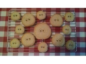 Susuwatari Cookie Cutter