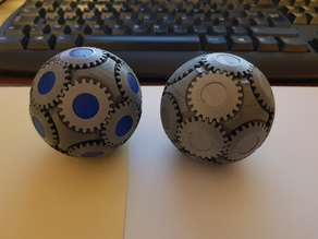 Spherical gears - Fidget