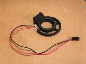 Fan duct LED ring for BCN3D+