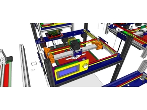 PANDORA Jr. DXs - DIY 3D Printer - 3D Design Concept
