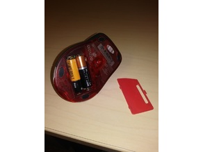 mouse battery cover