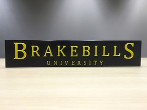 The Magicians - Brakebills University Logo