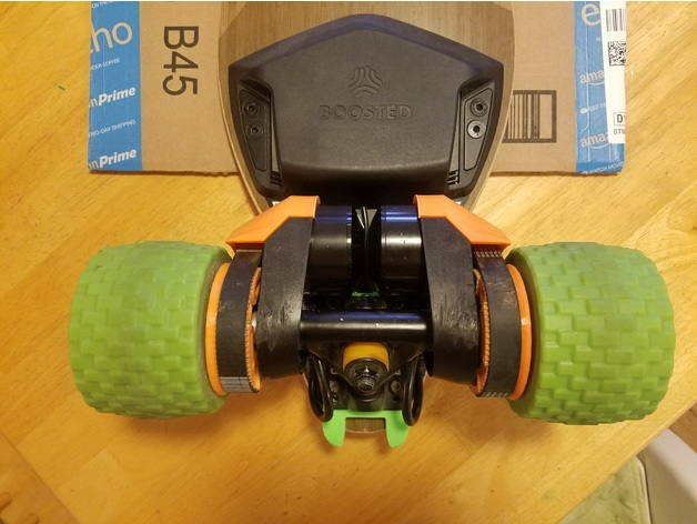 Mbs All Terrain Skate Wheel Conversion Kit For Boosted