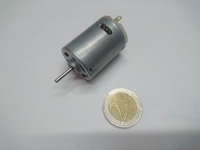RS 380 - 385 27.5 x 37.5 brushed DC motor dummy model STEP