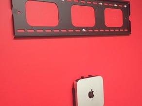 Mac mini 2014 wall mount (two parts)