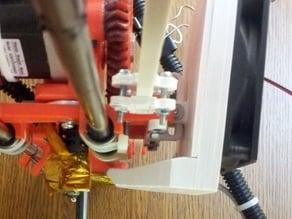 80mm Fan duct mount for Prusa Mendel i2