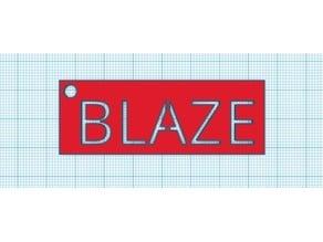 Blaze Key Chain 170222