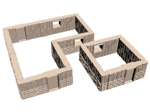 Fantasy Building Maker - to build 4x4 and offshoot 28mm buildings