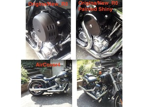 Air Cleaner Cover ( K&N filter cover) for Harley/other