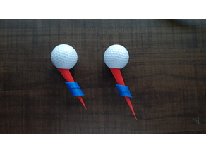 Inclined Golf Tee