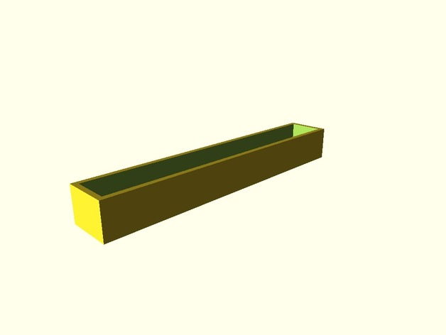 Endcaps For 25mm Mini Storage Trays By