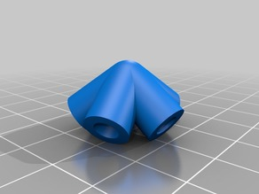 Vértice para icosaedro de 5mm
