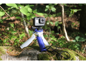 GoPro tripod/handle hybrid