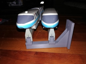 Disney Monorail Double Beam Wall Mount