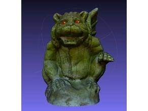 Gargoyle - photogrammetry scanned model