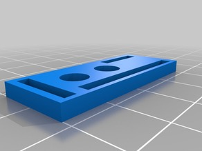 OX CNC EndStop Mounting Plate