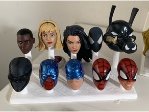 Marvel Legends Extra Heads Stand