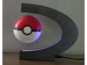 Levitating Pokeball