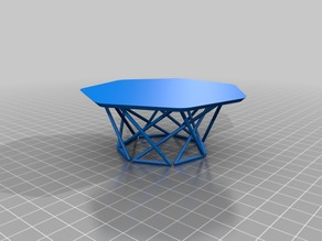 Coffee Table Design Scale Model
