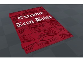 Merle's Extreme Teen Bible Cover - The Adventure Zone