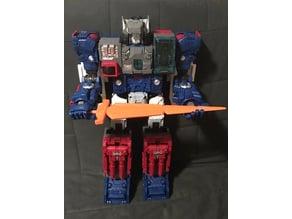 Transformers Titans Return Titan Class Fortress Maximus Sword