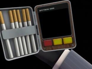 Team Fortress 2 spy cigarette case