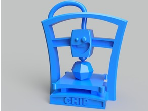 'Chip' the Benchmark 3D printer