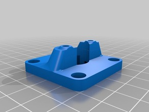 PrintrBot Simple Y-Axis Belt Conversion - Modified Bearing Mount