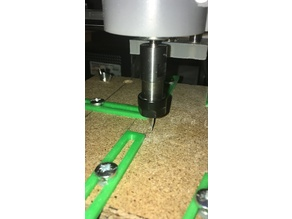 CNC supports for PCB creation