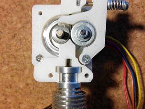 Direct Drive extruder rework for MK7 Gear, E3D v6 head